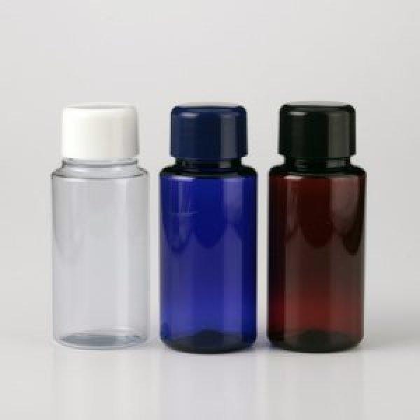 画像1: プラスチックボトル ブラウン (遮光ボトル) 50ml (1)